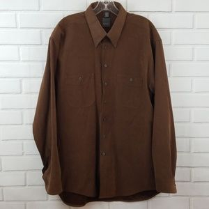 Haupt Polyester Button Down Shirt